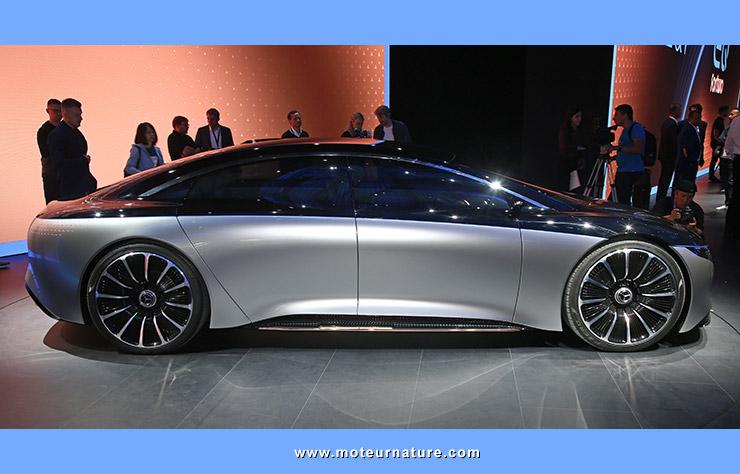 Mercedes Vision EQS électrique