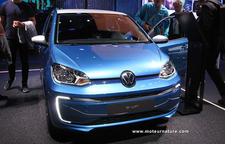 Volkswagen e-up au salon de Francfort