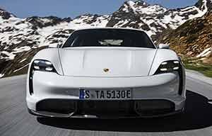 Les points forts de la Porsche Taycan électrique