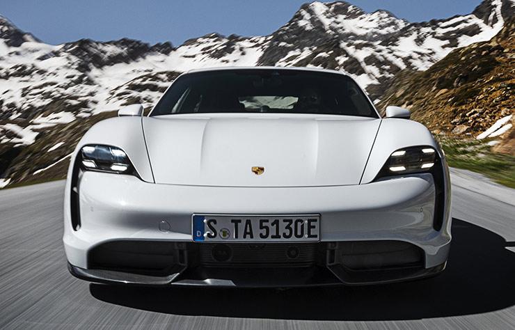 Porsche Taycan électrique