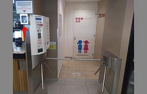 Bornes de recharge: l'exemple des toilettes tchèques