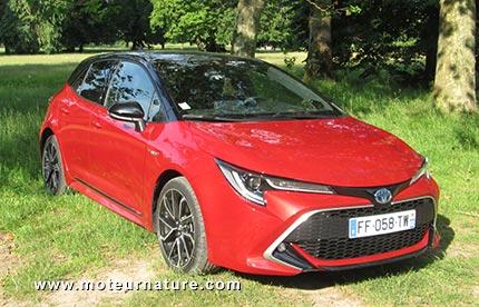 Toyota Corolla hybride 180 ch