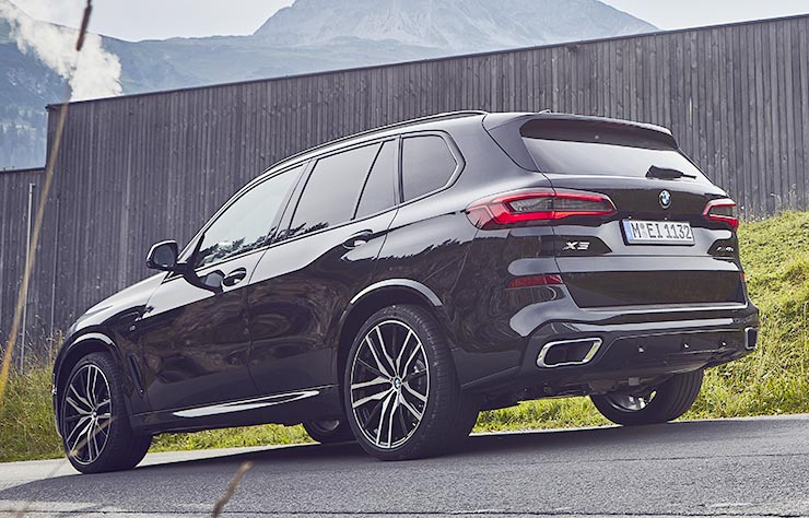 BMW X5 xDrive45e hybride rechargeable