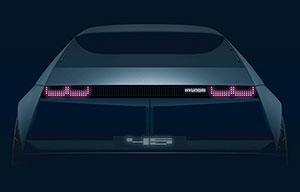 45, le coupé anniversaire de Hyundai