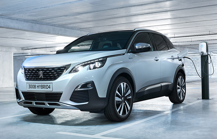 Peugeot 3008 Hybrid4 hybride rechargeable