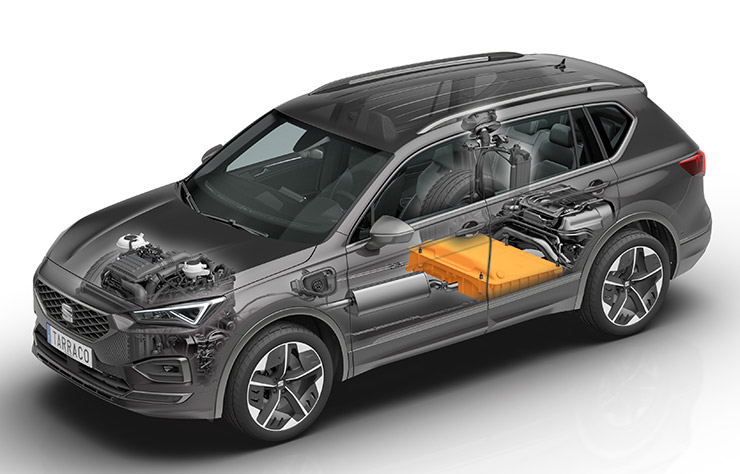 Concept SUV Seat Tarraco hybride rechargeable