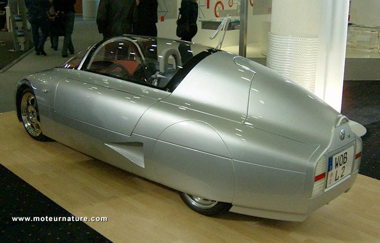 Prototype Volkswagen de voiture ne consommant qu'1 l/100km