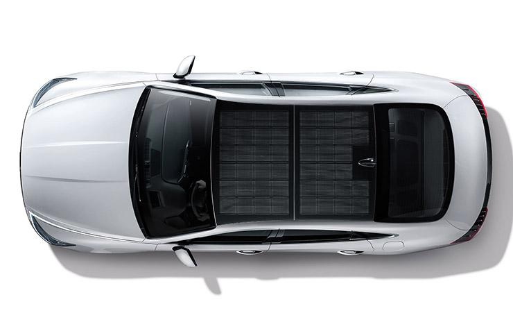 Hyundai Sonata hybride à toit solaire