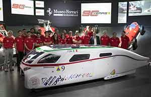 Des voitures solaires chez Ferrari!