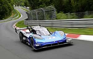 Les surprises de la Volkswagen ID.R au Nurburgring