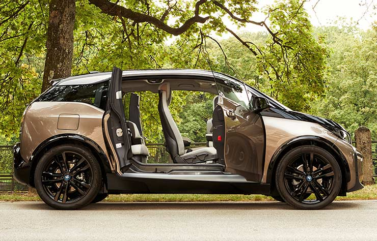 BMW i3 électrique batterie 42 kWh