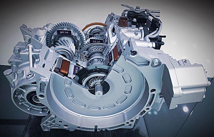 Transmission hybride Hyundai