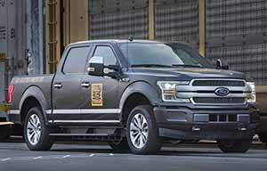 Le pick-up Ford électrique tracte plus de 500 tonnes