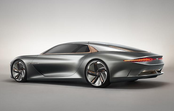 Concept électrique Bentley EXP 100GT