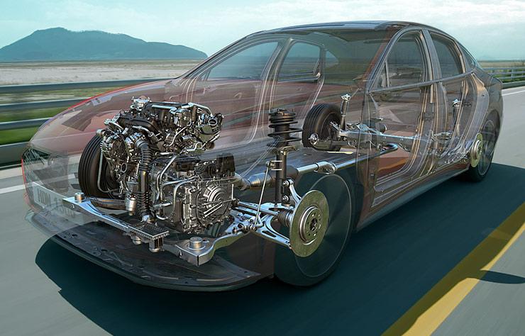 Moteur Hyundai avec technologie CVVD