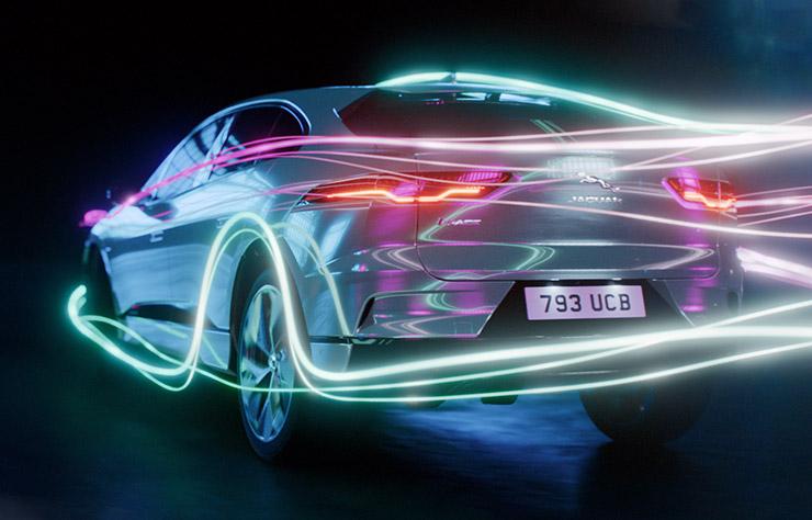 Jaguar I-Pace électrifiée
