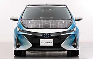 Toyota Prius hybride rechargeable solaire