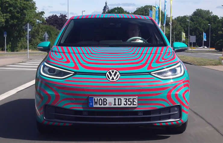 Volkswagen ID3 à Wolsburg