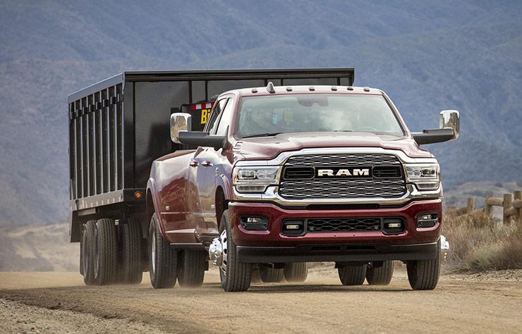Pick-up Ram avec moteur diesel heavy-duty Cummins