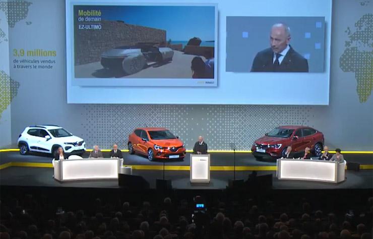 Assemblée générale Renault 2019