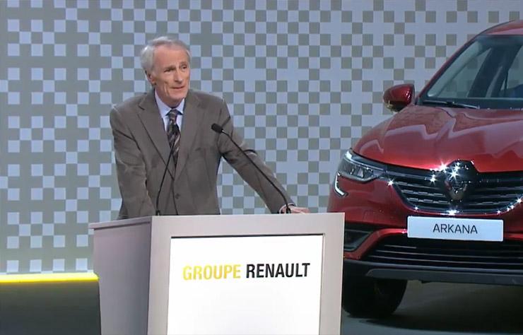 Jean-Dominique Senard à l'assemblée générale Renault 2019