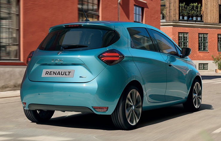 Renault Zoé modèle 2020