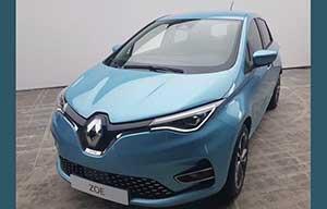 Un premier cliché volé de la Renault Zoé II