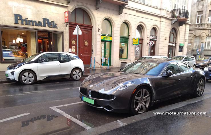 Voiture électrique à Budapest