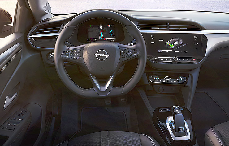 Opel Corsa-e électrique
