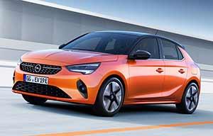 Opel Corsa-e électrique 330km d'autonomie