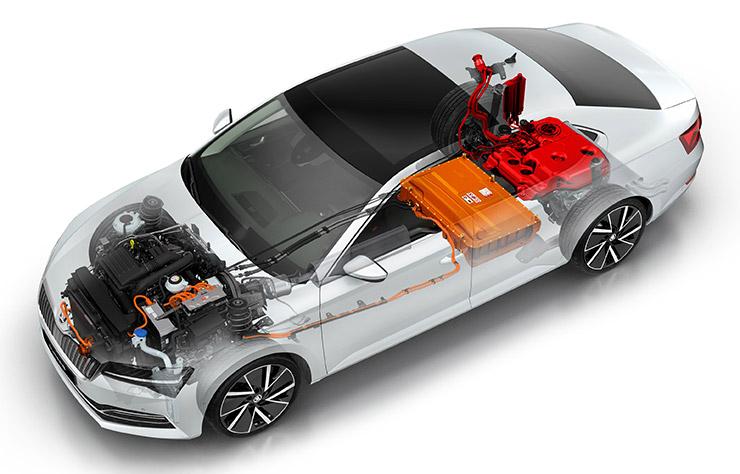 Skoda Superb iV hybride rechargeable