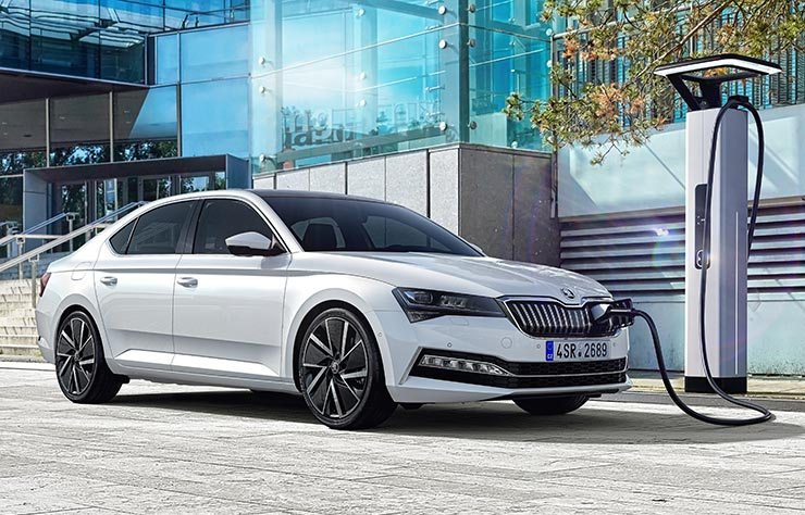 Skoda Superb iV hybride rechargeable