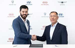 Hyundai-Kia investit dans Rimac