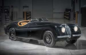 Jaguar XK120 modifiée: améliorer sans dénaturer