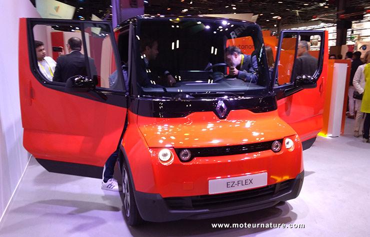 Démonstrateur technologie Renault EZ-Flex pour les livraisons urbaines