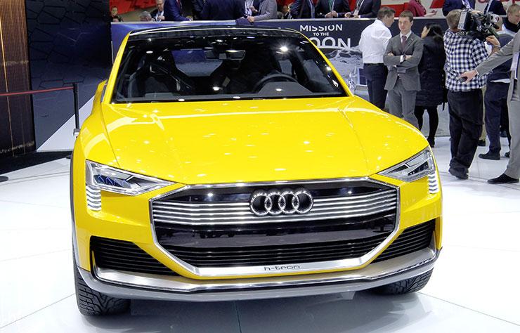 Concept Audi électrique avec une pile à hydrogène