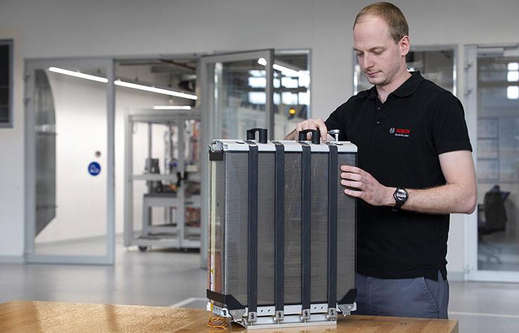 Pile à combustible à hydrogène de Bosch