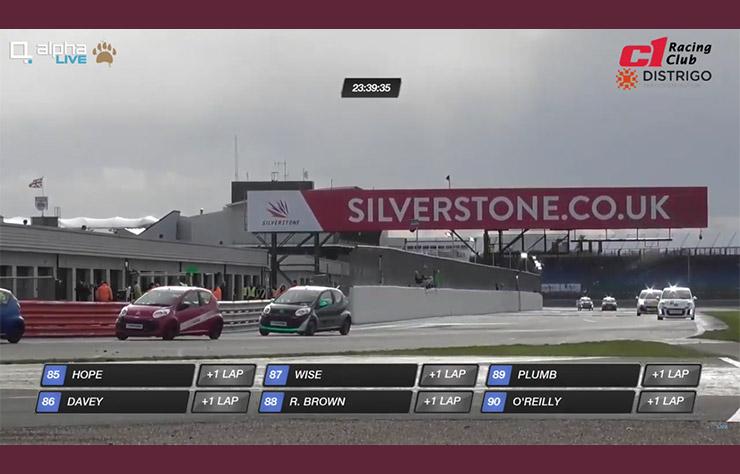 Course d'endurance de Citroen C1 à SIlverstone
