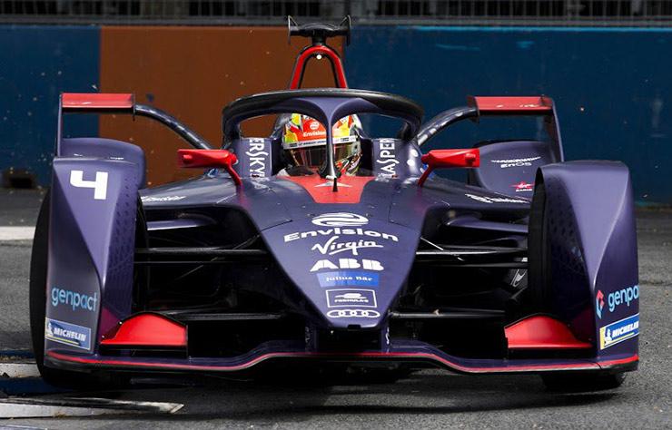 Monoplace électrique d'Envision Racing