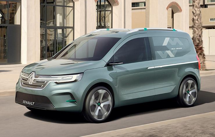Concept Renault Kangoo Z.E. électrique