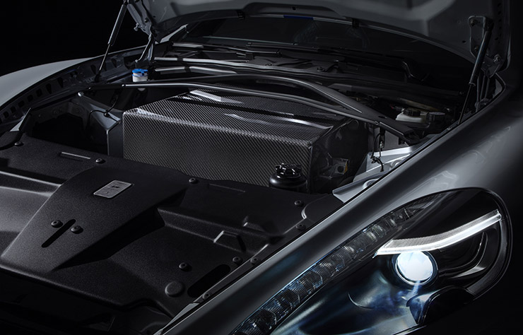 Aston Martin Rapide E électrique