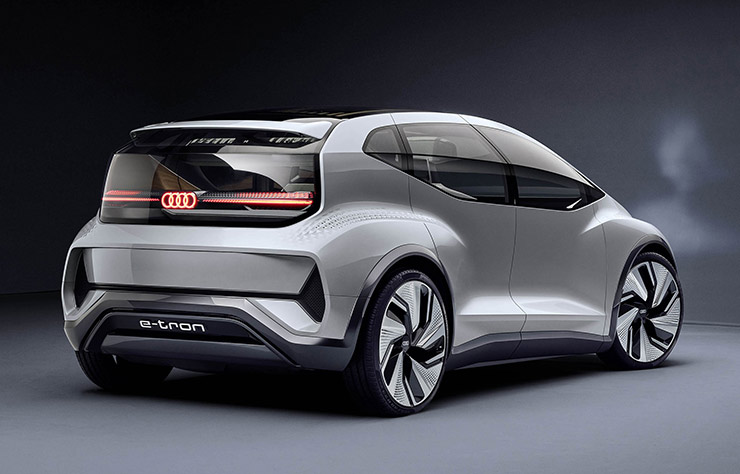 Concept électrique autonome Audi AI:ME