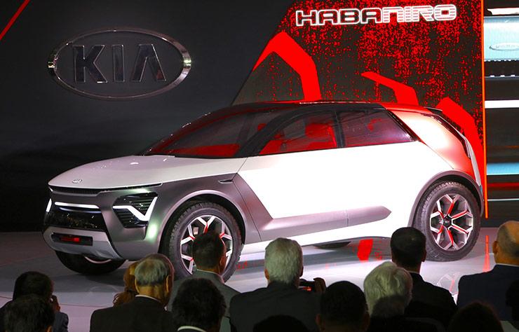 Concept Kia HabaNiro électrique