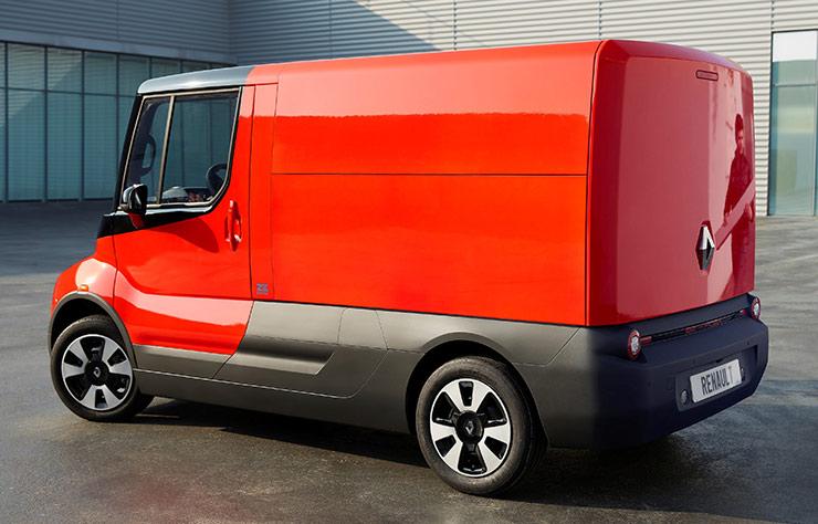 Concept utilitaire électrique Renault EZ-Flex