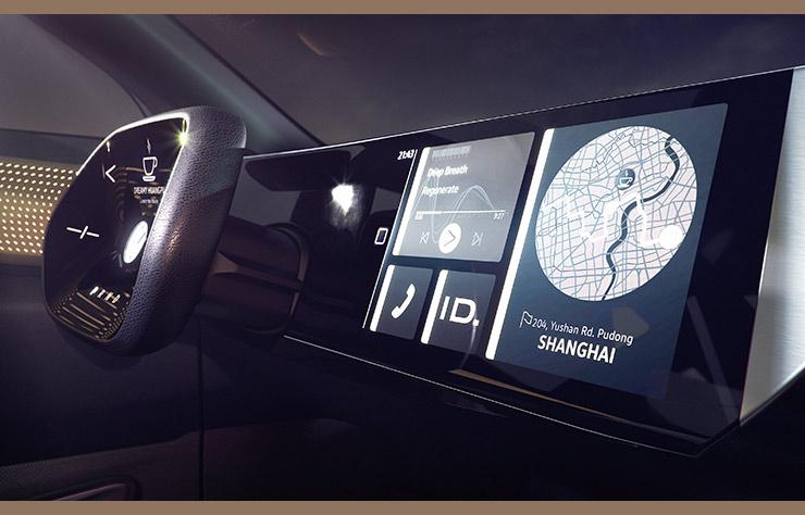 Concept électrique Volkswagen ID. Roomzz