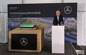 Batteries : Mercedes et Volkswagen investissent beaucoup