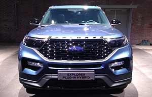 Ford Explorer hybride rechargeable: 100% américain
