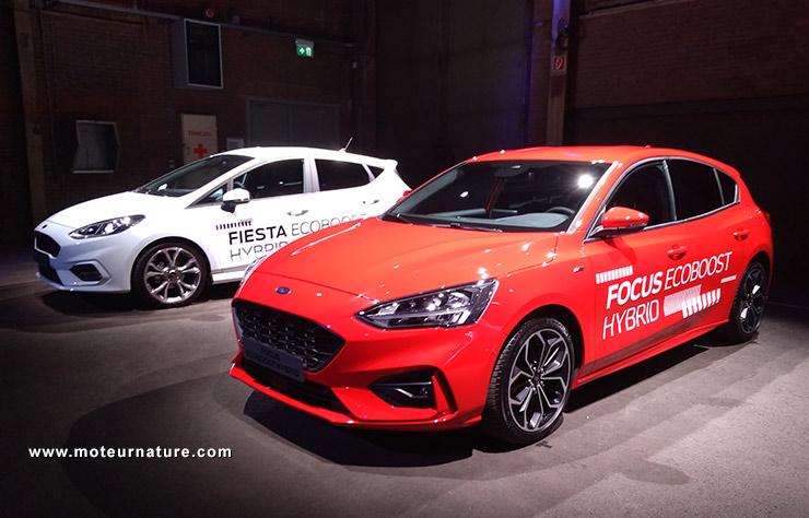 Ford Focus et Fiesta hybrides