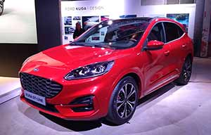 Nouvelle Ford Kuga: triplement hybride