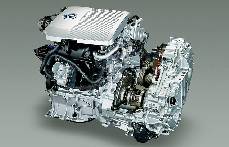 Système Hybrid Synergy Drive de Toyota